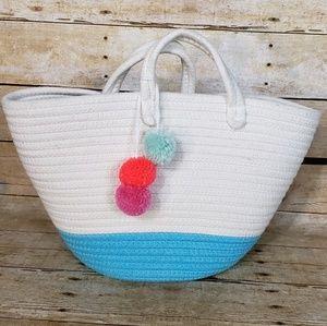 Coiled Rope Tote Bag - NWOT